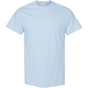 Textiel Heren T-shirts korte mouwen Gildan Heavy Lichtblauw