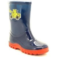 Schoenen Kinderen Regenlaarzen Stormwells Puddle Marineblauw/rood