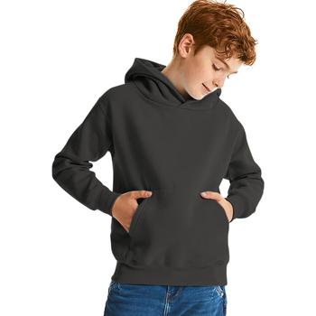 Textiel Kinderen Sweaters / Sweatshirts Jerzees Schoolgear Hooded Zwart