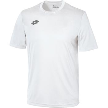 Textiel Kinderen T-shirts korte mouwen Lotto LT26B Wit/tinnen