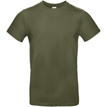 Textiel Heren T-shirts korte mouwen B And C TU03T Stedelijke Khaki