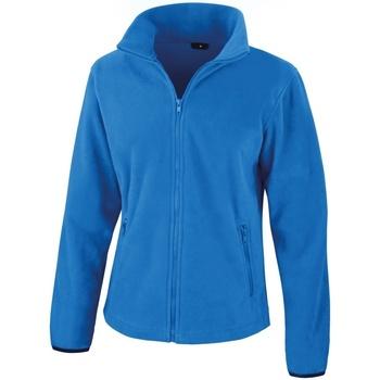 Textiel Dames Fleece Result Core Elektrisch Blauw