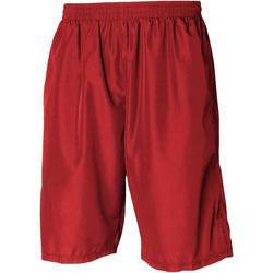 Textiel Heren Korte broeken / Bermuda's Tombo Teamsport Longline Rood / Rood
