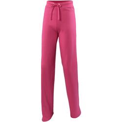 Textiel Dames Trainingsbroeken Awdis Girlie Heet Roze