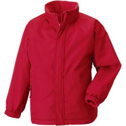 Textiel Kinderen Wind jackets Jerzees Schoolgear Showerproof Klassiek rood