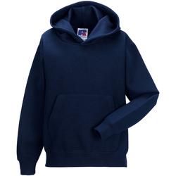 Textiel Kinderen Sweaters / Sweatshirts Jerzees Schoolgear Hooded Franse marine