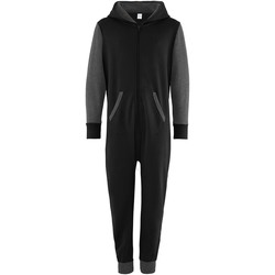 Textiel Kinderen Jumpsuites / Tuinbroeken Comfy Co Contrast Zwart/Kool