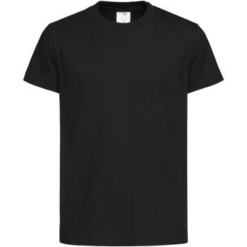 Textiel Kinderen T-shirts korte mouwen Stedman Organic Zwart Opaal