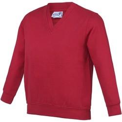 Textiel Kinderen Sweaters / Sweatshirts Awdis Just Cool Rood