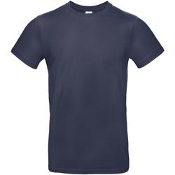 Textiel Heren T-shirts korte mouwen B And C E190 Stedelijke Marine