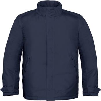 Textiel Heren Jacks / Blazers B And C Real+ Marineblauw