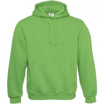 Textiel Heren Sweaters / Sweatshirts B And C Hooded Real Groen