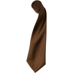 Textiel Heren Krawatte und Accessoires Premier Satin Bruin