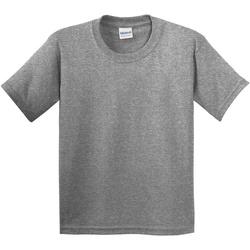 Textiel Kinderen T-shirts korte mouwen Gildan 5000B Grafiet Heide