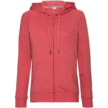 Textiel Dames Sweaters / Sweatshirts Russell J284F Rode mergel