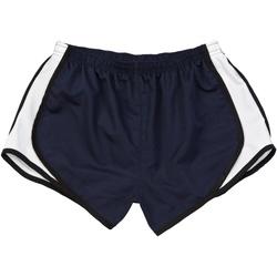 Textiel Dames Korte broeken / Bermuda's Boxercraft Velocity Marine / Zwart-Wit