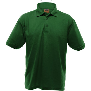 Textiel Heren Polo's korte mouwen Ultimate Clothing Collection Pique Fles groen