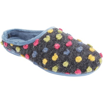 Schoenen Dames Sloffen Sleepers Knit Blauw/Multi