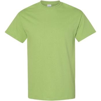 Textiel Heren T-shirts korte mouwen Gildan Heavy Kiwi