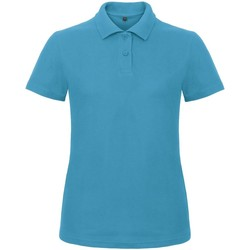 Textiel Dames Polo's korte mouwen B And C ID.001 Atol
