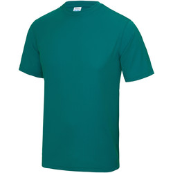 Textiel Heren T-shirts korte mouwen Awdis Performance Jade