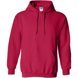 Textiel Sweaters / Sweatshirts Gildan Hooded Kersenrood