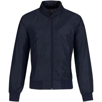 Textiel Dames Wind jackets B And C Bomber Marine / Neon Groen