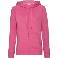 Textiel Dames Sweaters / Sweatshirts Russell J284F Roze Mergel