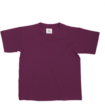 Textiel Kinderen T-shirts korte mouwen B And C Exact Bourgondië