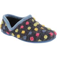 Schoenen Dames Sloffen Sleepers Jade Lichtblauw/Multi