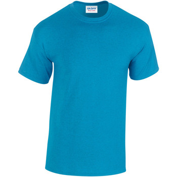 Textiel Heren T-shirts korte mouwen Gildan Heavy Antieke Saffier
