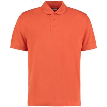 Textiel Heren Polo's korte mouwen Kustom Kit Klassic Gebrande sinaasappel