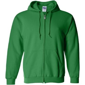 Textiel Heren Sweaters / Sweatshirts Gildan Hooded Iers Groen