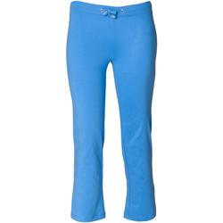 Textiel Meisjes Trainingsbroeken Skinni Fit Boot Cut Helder Blauw