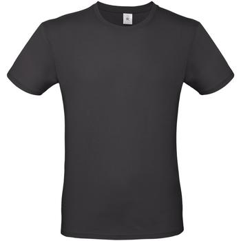 Textiel Heren T-shirts korte mouwen B And C E150 Gebruikt Zwart