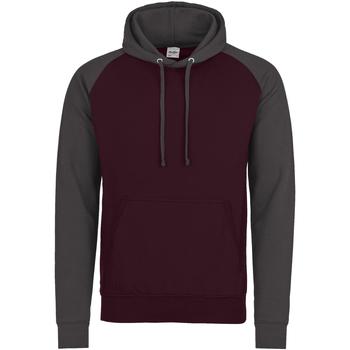 Textiel Heren Sweaters / Sweatshirts Awdis Hooded Bourgogne/Hardkolen