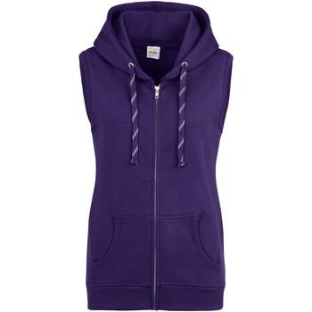 Textiel Dames Sweaters / Sweatshirts Awdis JH57F Paars