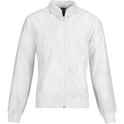 Textiel Dames Wind jackets B And C Bomber Wit/wit