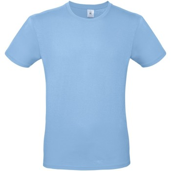 Textiel Heren T-shirts korte mouwen B And C E150 Hemelsblauw