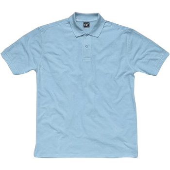 Textiel Dames Polo's korte mouwen Sg SG50F Hemelsblauw