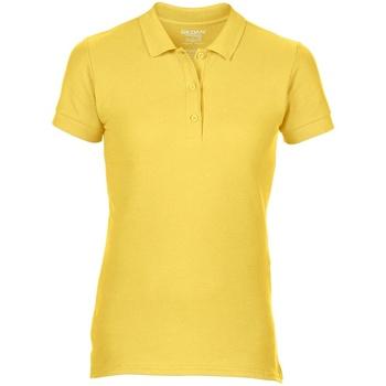 Textiel Dames Polo's korte mouwen Gildan Pique Daisy