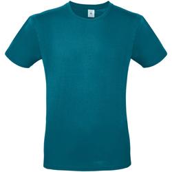 Textiel Heren T-shirts korte mouwen B And C E150 Duivels blauw