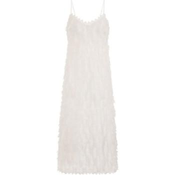 Textiel Dames Lange jurken Girls On Film Goulding Wit