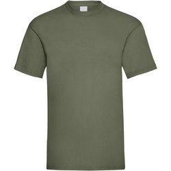 Textiel Heren T-shirts korte mouwen Universal Textiles 61036 Olijfgroen
