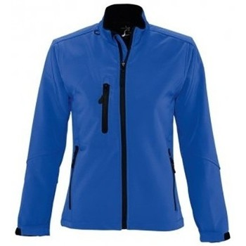 Textiel Dames Windjacken Sols Windproof Koningsblauw