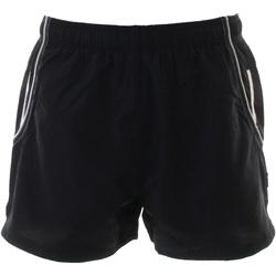 Textiel Heren Korte broeken / Bermuda's Gamegear Active Zwart / Wit