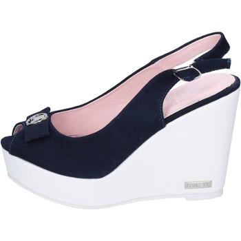 Schoenen Dames Sandalen / Open schoenen Lancetti Sandales BP561 Bleu