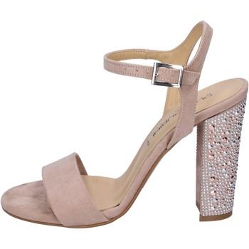 Schoenen Dames Sandalen / Open schoenen Olga Rubini Sandales BP570 Rose