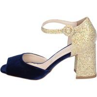 Schoenen Dames Sandalen / Open schoenen Olga Rubini Sandales BP571 Bleu