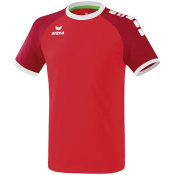 Textiel Heren T-shirts korte mouwen Erima Maillot  Zenari 3.0 rouge/blanc
